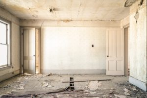Intérieur d'appartement en rénovation.